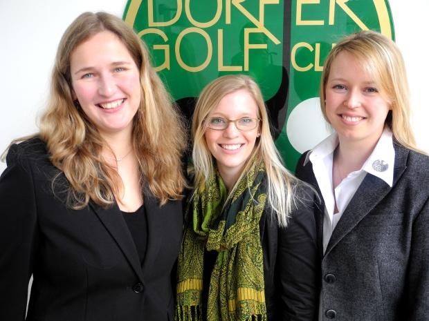 Drei starke Damen im Düsseldorfer GC