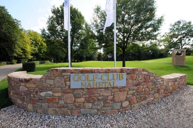 Eingang Golfclub Nahetal