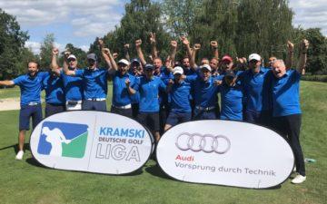 Das Überraschungsteam vom GC Hösel spielt beim Final Four am 18./19. August im Kölner Golfclub