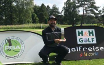 Dennis Küpper triumphiert bei der H&H Golf PGA Club Professional Series