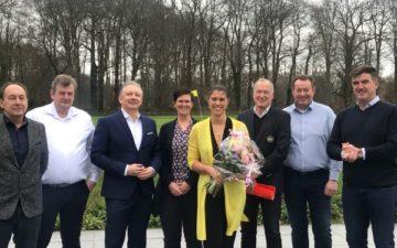 Silke Sommers neue Präsidentin im GC Wasserburg Anholt