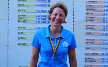 Silber für Nina Birken bei der AK 30 – Glückwunsch!