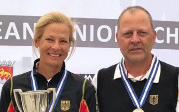 "Susanne Lichtenberg AK 50-Europameisterin, Martin Birkholz ""Vize"""