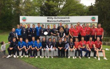 GC Hubbelrath wieder Willy-Schniewind Mannschaftspreis-Sieger