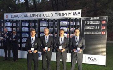 """GC Hubbelrath – wieder Bronze bei der """"European Men's Club Trophy""""!"""