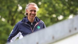 GC Hubbelrath-Coach Christoph Herrmann: Gute Laune nach zwei Tagessiegen und Platz 1