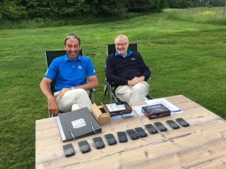 Seit 15 Jahren ein Erfolgsgespann: Captain Markus Eirund (l) und Co-Captain Dietmar Sperling