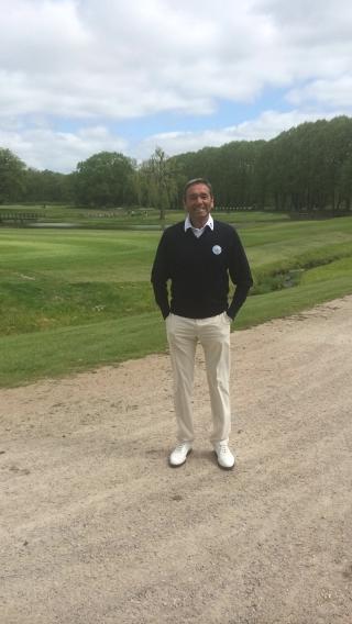 Zuversichtlich: GC Hösel-Captain Markus Eirund