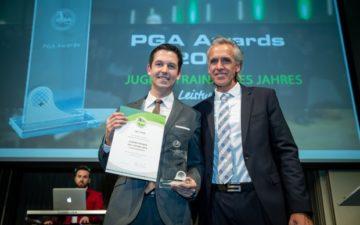 Lars Thiele gewinnt den Jugendtrainer-Award der PGA of Germany 2018