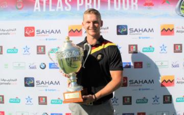 Nick Bachem gewinnt in Marokko auf der Pro Golf Tour