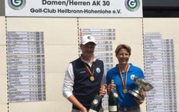 AK 30 Meistertitel für Nina Birken und Marcel Zillekens