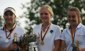 Großer Sieg für Sophie Hausmann bei der IAM der Damen 2016