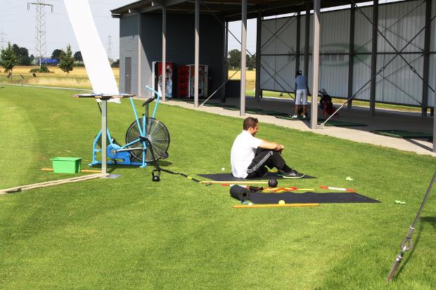Fitnesstraining im GolfCenter vor und nach der Golfrunde