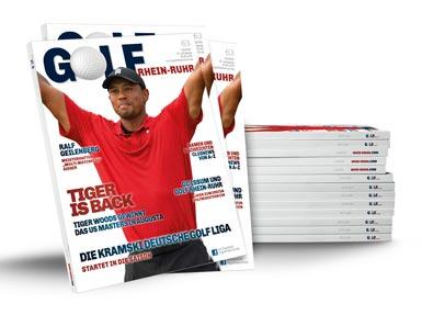 Aktuelle Ausgabe Golf an Rhein und Ruhr