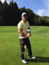 Macht auch als Golfspieler mit Handicap minus 1,2 eine erstklassige Figur