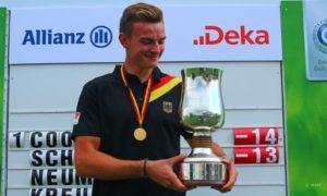 Deutscher Meistertitel für Jannik de Bruyn