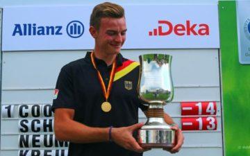 """Jannik de Bruyn: """"Noch zehn gute Runden bis zur Tourkarte!"""""""