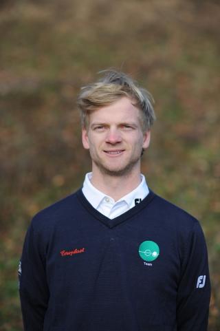 Neu im Herrenteam des GC Hubbelrath: Frederik Strünker