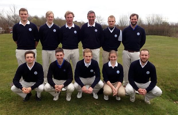 GC Hösel - Mannschaftsfoto Deutsche Golf Liga