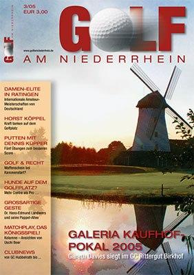 Golf am Niederrhein - Erster Titel aus dem Jahre 2005