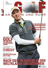 Golf an Rhein und Ruhr Titelbild 2013