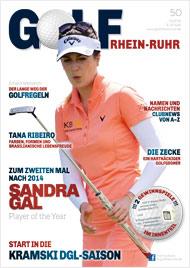 Golf an Rhein und Ruhr Titelbild 01/2016