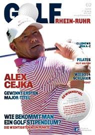 Golf an Rhein und Ruhr Titelbild 01/2021