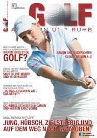 Golf an Rhein und Ruhr Titelbild 02/2013