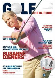 Golf an Rhein und Ruhr Titelbild 02/2015