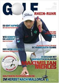 Golf an Rhein und Ruhr Titelbild 02/2016