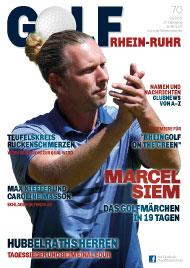Golf an Rhein und Ruhr Titelbild 02/2021