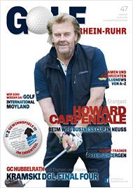 Golf an Rhein und Ruhr Titelbild 03/2015