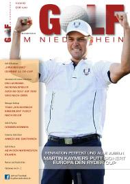 Golf an Rhein und Ruhr Titelbild 2012