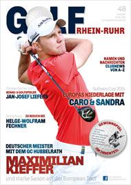 Golf an Rhein und Ruhr Titelbild 04/2015