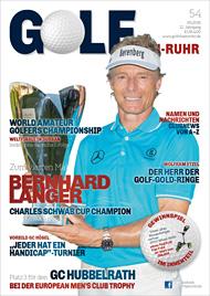 Golf an Rhein und Ruhr Titelbild 05/2016