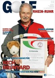 Golf an Rhein und Ruhr Titelbild 05/2017