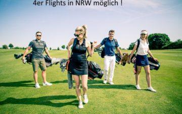 4er Flights in Nordrhein-Westfalen erlaubt !