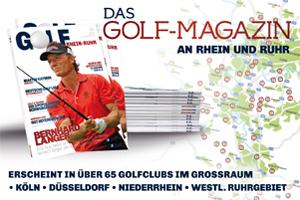 Golf Rhein und Ruhr Magazin