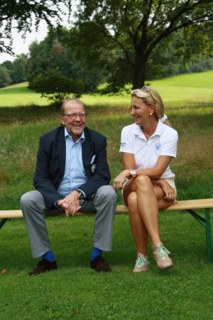 """Auch GC Hösel-Präsident Dieter Dunkerbeck war stolz auf """"seine Jungs""""!"""