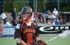 Lacrosse-Nationalspieler Lorenz Lehmhaus in Aktion