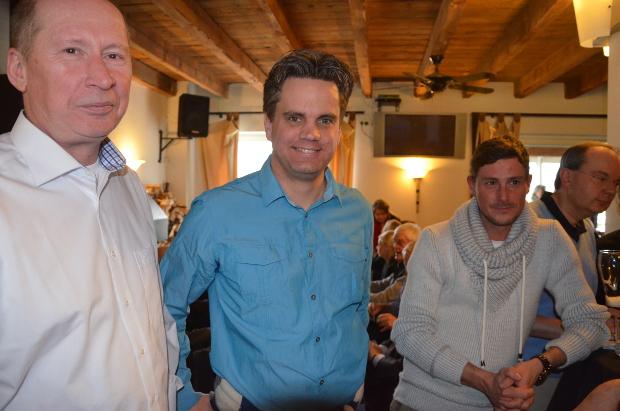 Auch unter den Gästen beim Neujahrsempfang: Clubmeister Dr. Frank Bielert