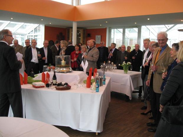 Gute Beteiligung beim Neujahrsempfang der Senioren im GC Op de Niep