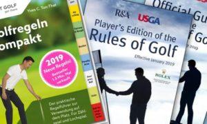 Die neuen Golf-Regeln ab 2019 !