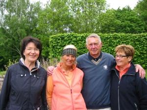 In der Netto-Klasse B gewannen (v.l.): Gudrun Peltzer, Elke Grabe sowie Dieter und Hilde Hömberg